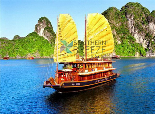 Ha long cruise bai tho10