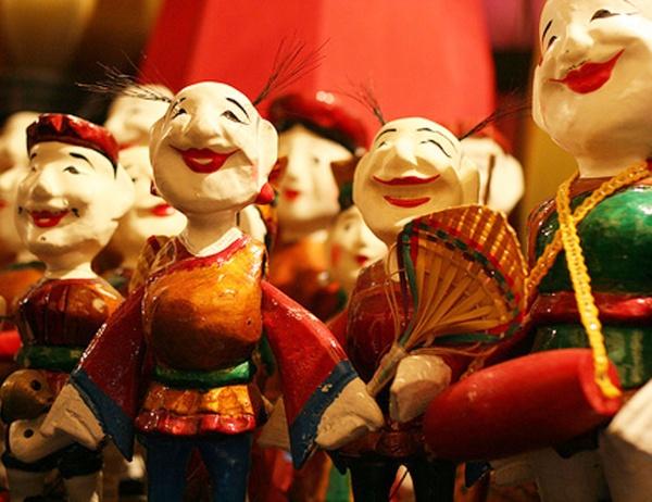 コミカルな人形の動きが楽しい!水上人形劇鑑賞(食事無)