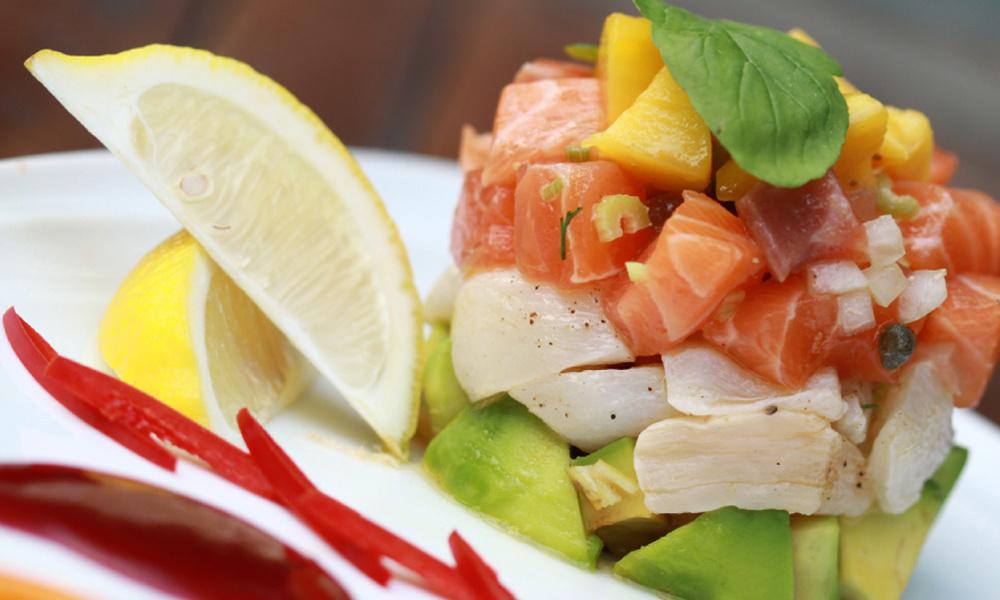 夕食:MIX RESTAURANT ミックスレストラン(ラオス料理)