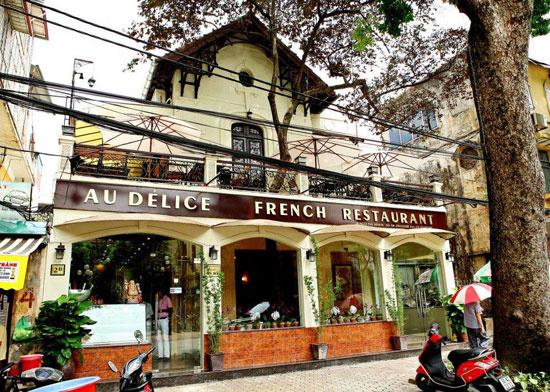 気軽にフレンチを フレンチレストラン「AU DELICE 」