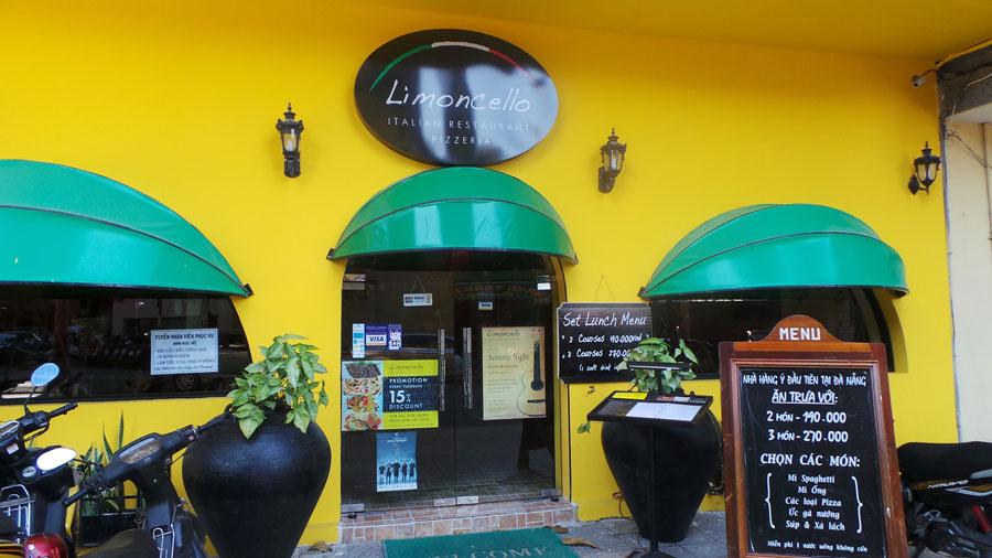 非常に居心地の良いロマンチックなレストラン リモンチェッロ