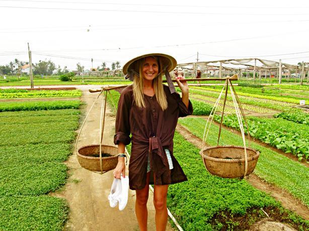 半日:オーガニックファームでエコ農業体験!In チャークエ村