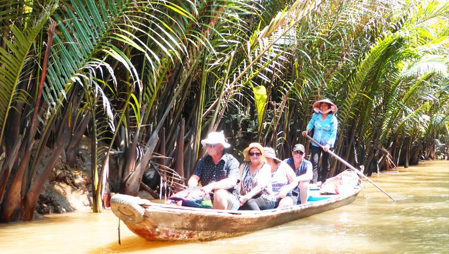 一番人気のツアー!一日:大河メコンデルタクルーズ