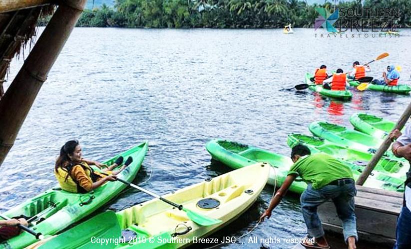 プノンペン発カンボジアの雄大な自然!!日帰りカンポット観光(川遊び+自由行動)
