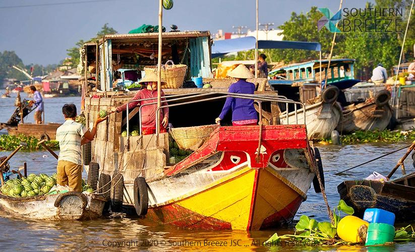 の画像 悠久の大メコン河紀行!カントーの水上市場観光 &デイナークルーズ #5