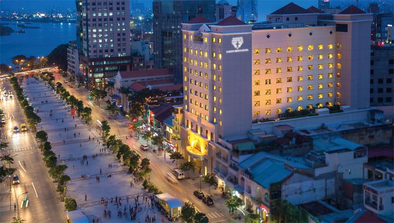 サイゴンプリンスホテル(2016年8月12日~ダクストンホテルサイゴンより名称変更)